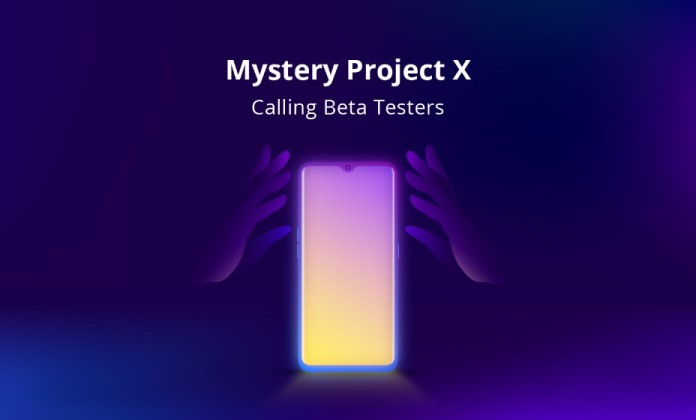 Enroll in Realme Mystery Project X