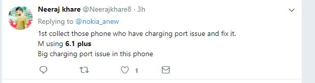 Nokia 6.1 Plus Charging Port Issue