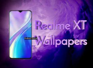 download Realme XT stock wallpaper