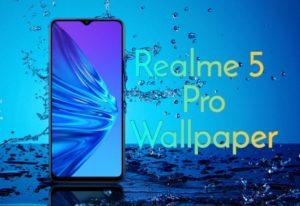 download Realme 5 Pro Stock Wallpaper