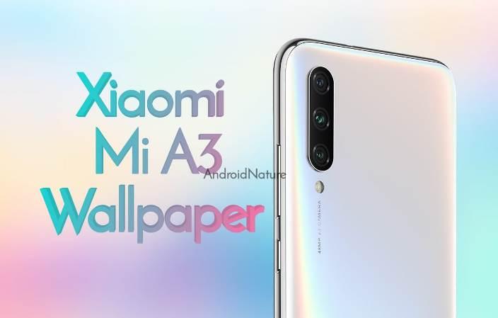 download Xiaomi Mi A3 stock wallpaper
