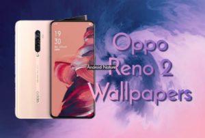 Oppo Reno 2 stock wallpaper