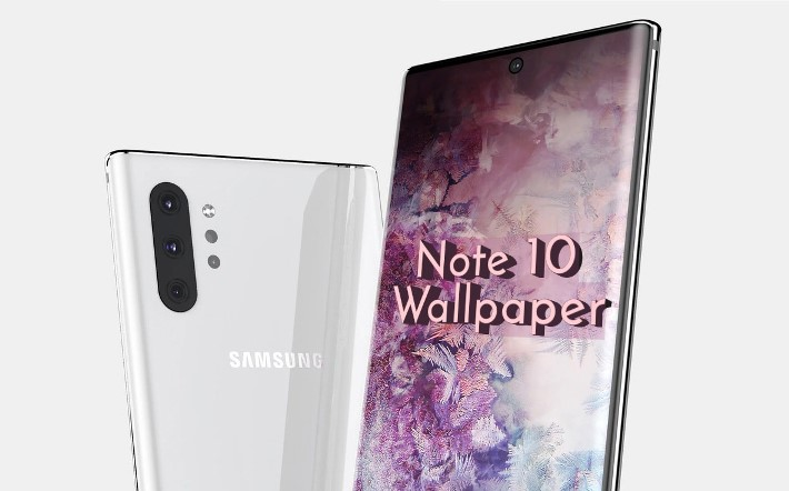 Samsung Galaxy Note 10 punch-hole wallpaper