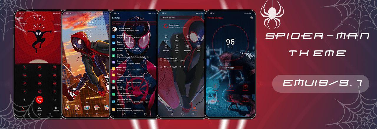 Spider Man EMUI theme