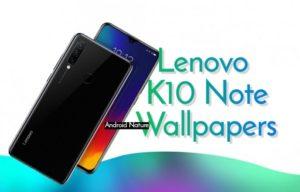 Lenovo K10 stock wallpaper