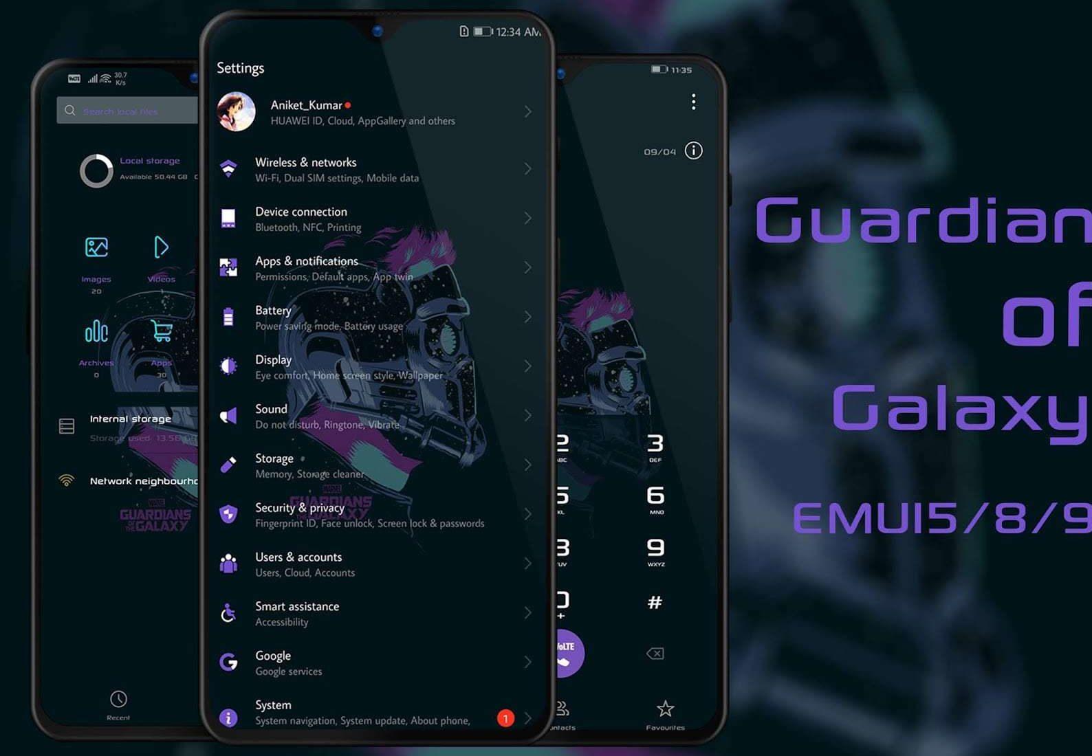 Guardian of Galaxy Theme