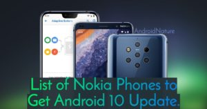 List Of Nokia Phones to Get Android 10 update