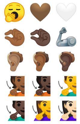 Android 10 Emojis