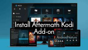 Install Aftermath Wizard addon on kodi