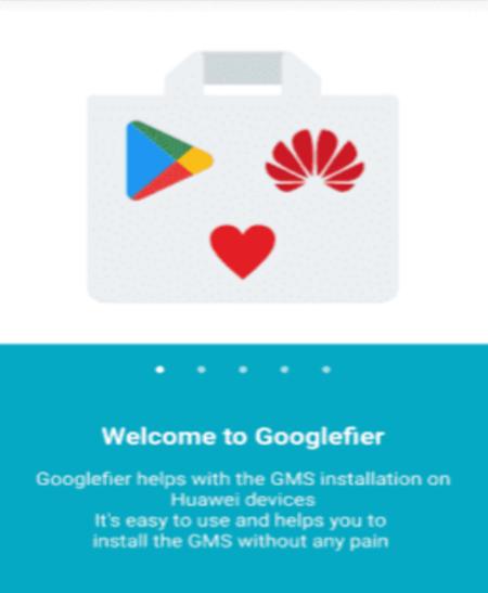 Googlefier App