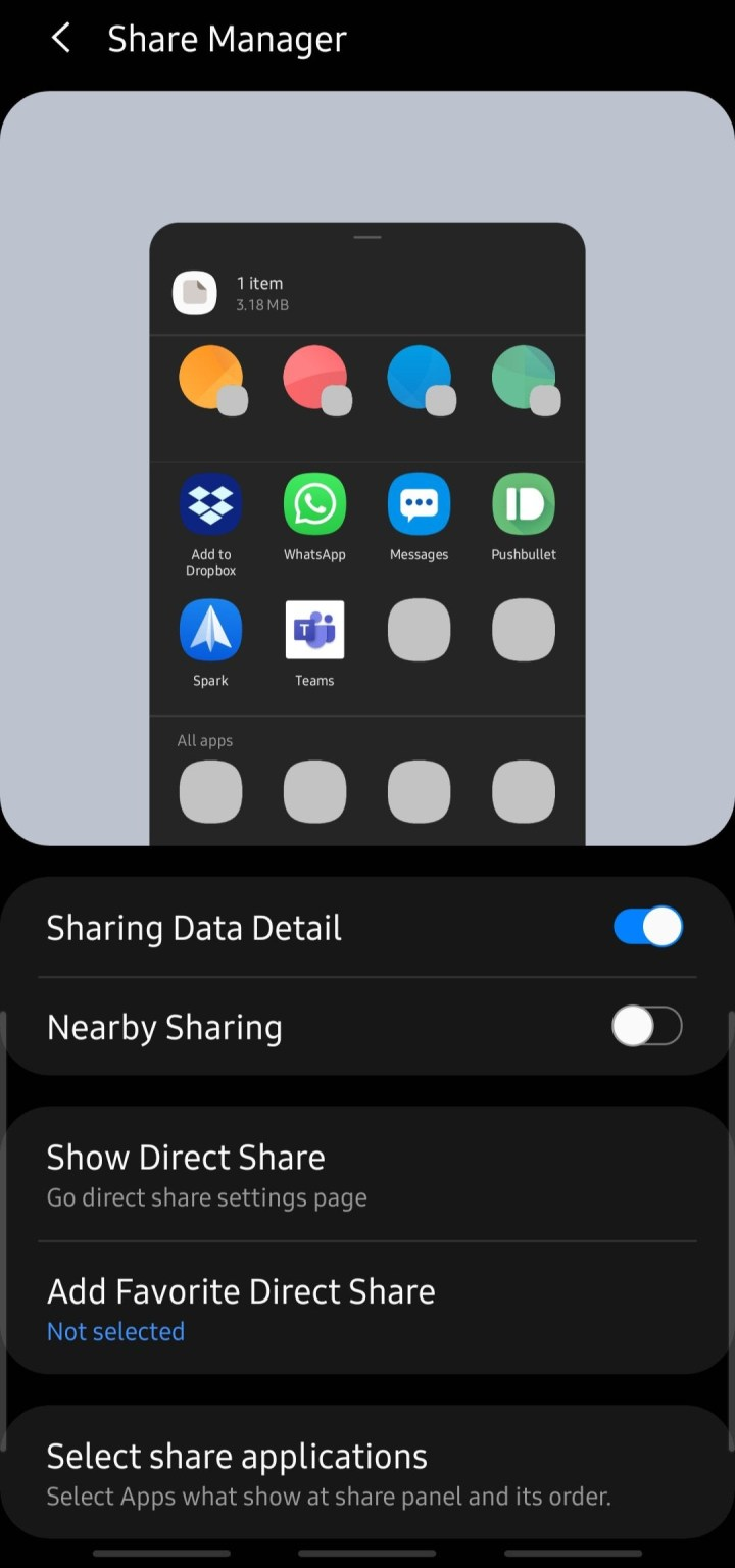 Samsung Share Manager Apk Download for home up Good Lock 2021 module