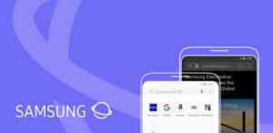 Samsung browser design