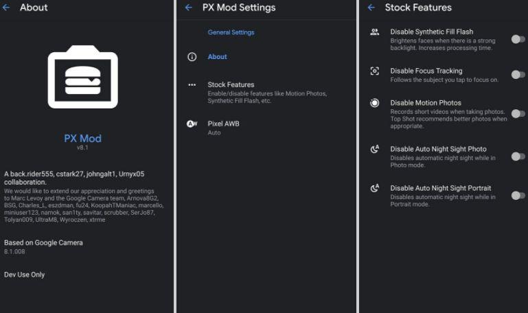 Moded GCam 8.1 (Google Camera) Download APK