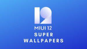 miui 12 super wallpapers