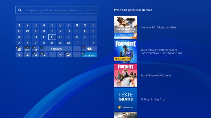 Peacock TV on Sony PS4