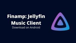 Finamp: Jellyfin music client