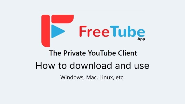 How to Download and use Free tube
