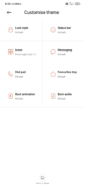 Boot animation in MIUI 12