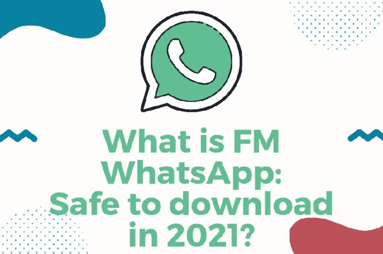 FM WhatsApp Safe to download in 2021