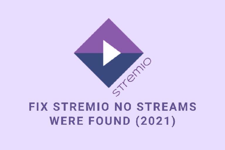 Fix Stremio no streams were found