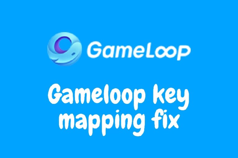 Gameloop key mapping fix