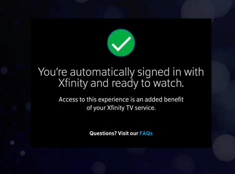 HBO Max on Xfinity