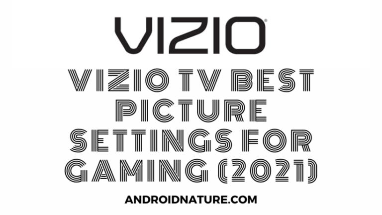 Vizio TV best picture settings