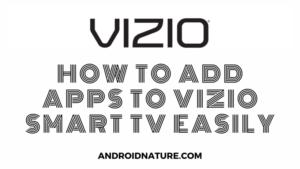 add apps to vizio smart tv