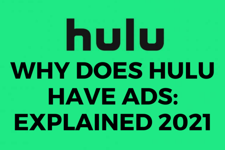 why does Hulu have ads