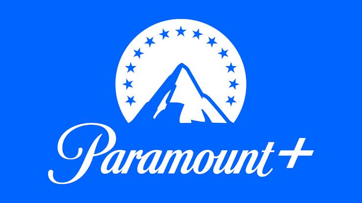 Paramount Plus blue and white logo