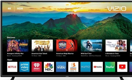 smart TV with applications