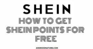 SHEIN free points